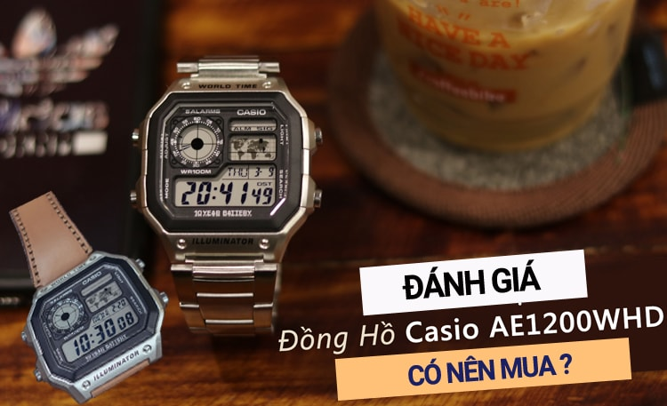 Casio World Time AE-1200WHD-1AVDF