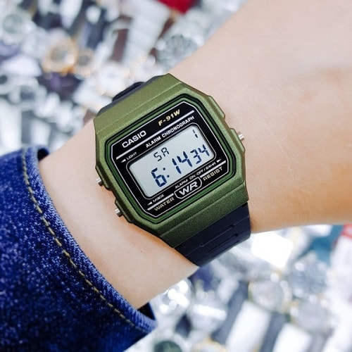 CASIO F-91WM-3ADF
